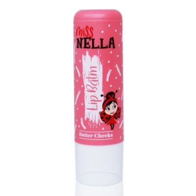 英國【Miss Nella】兒童水性胖胖款護唇膏-奶油杏桃