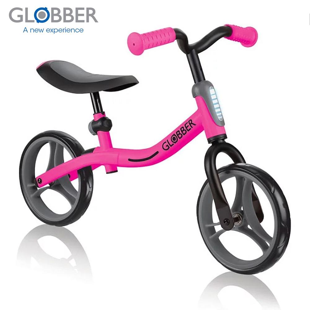 GLOBBER哥輪步 GO BIKE兒童平衡滑步車/學步車-粉 @ Y!購物