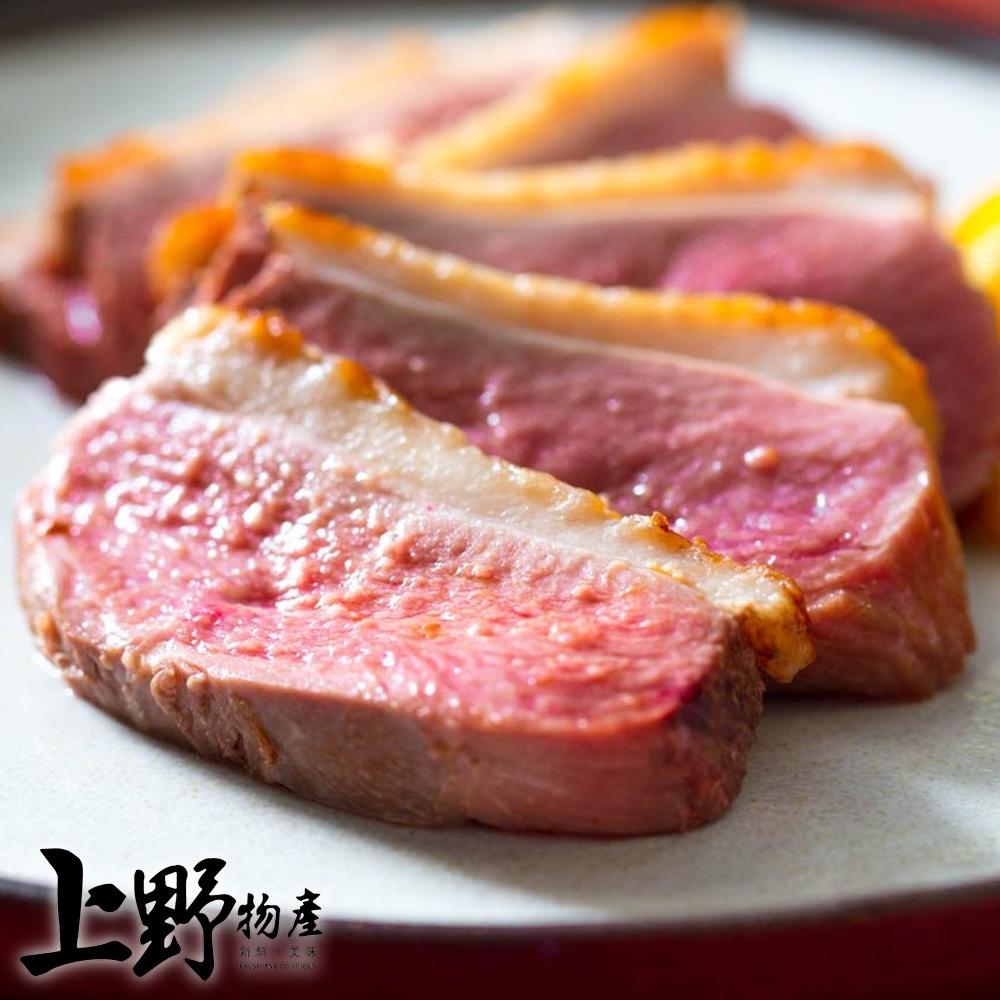 【上野物產】飯店用 宜蘭櫻桃鴨胸肉  ( 200g土10%/片 ) x12片