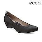 ECCO SCULPTURED 45 W 優雅正式楔形跟鞋-黑