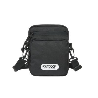 【OUTDOOR】直式側背包-黑色 OD191114BK