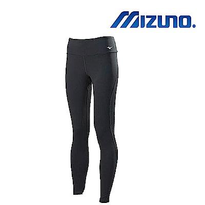 MIZUNO 美津濃 女瑜珈褲 黑 K2TB870608