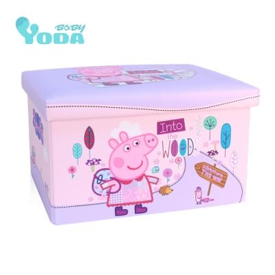 YoDa peppa pig 佩佩豬收納箱(森林好朋友)