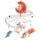 嬰兒床音樂鈴 頑兔寶寶發光小雞月亮遙控音樂旋轉床鈴