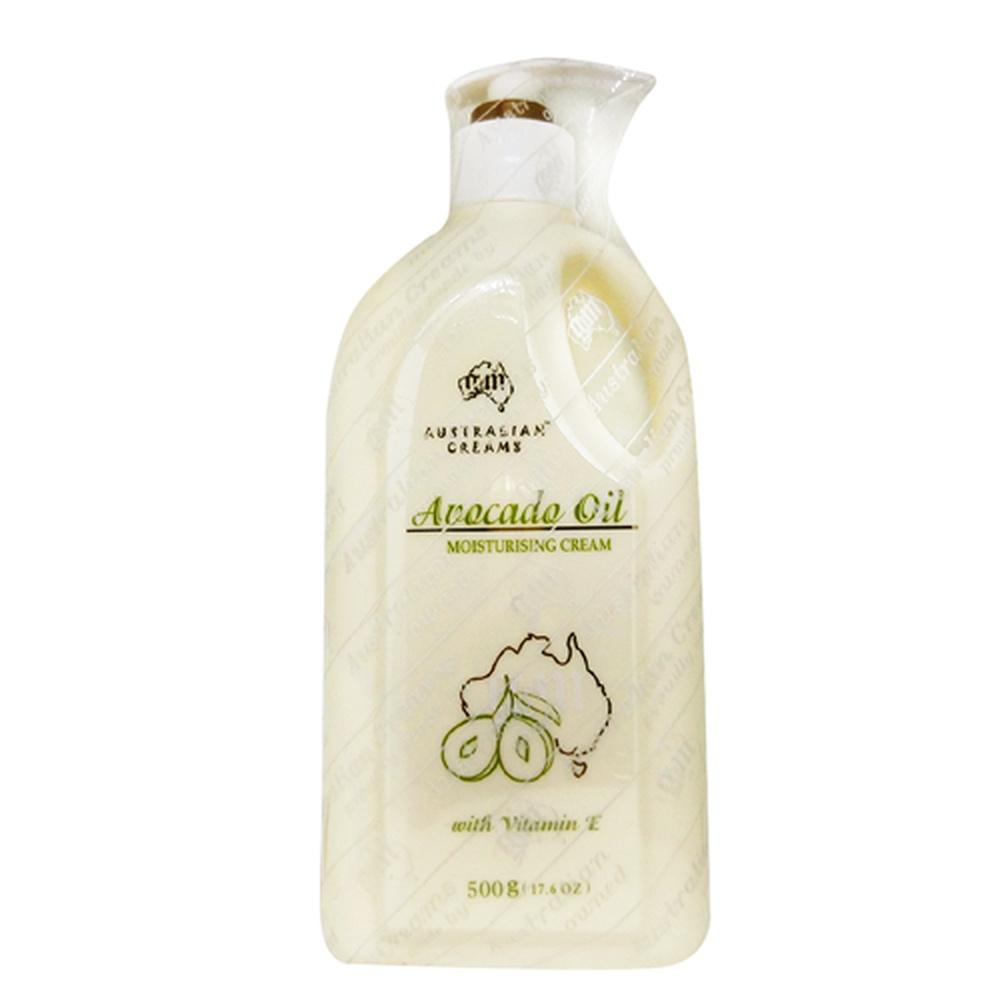 澳洲G&M 酪梨綿羊霜 Avocado Oil Cream 500g