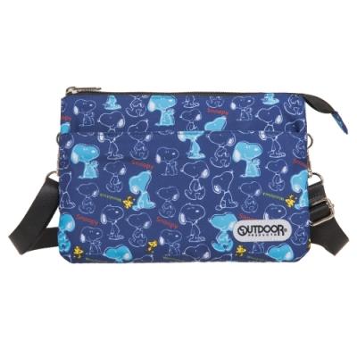 【OUTDOOR】SNOOPY聯名款側背包 ODP20A06NY