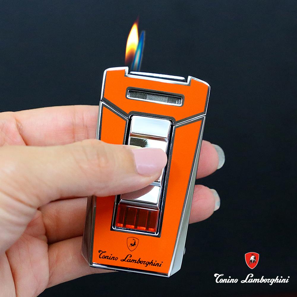 藍寶堅尼Tonino Lamborghini AERO LIGHTER 打火機(橘)