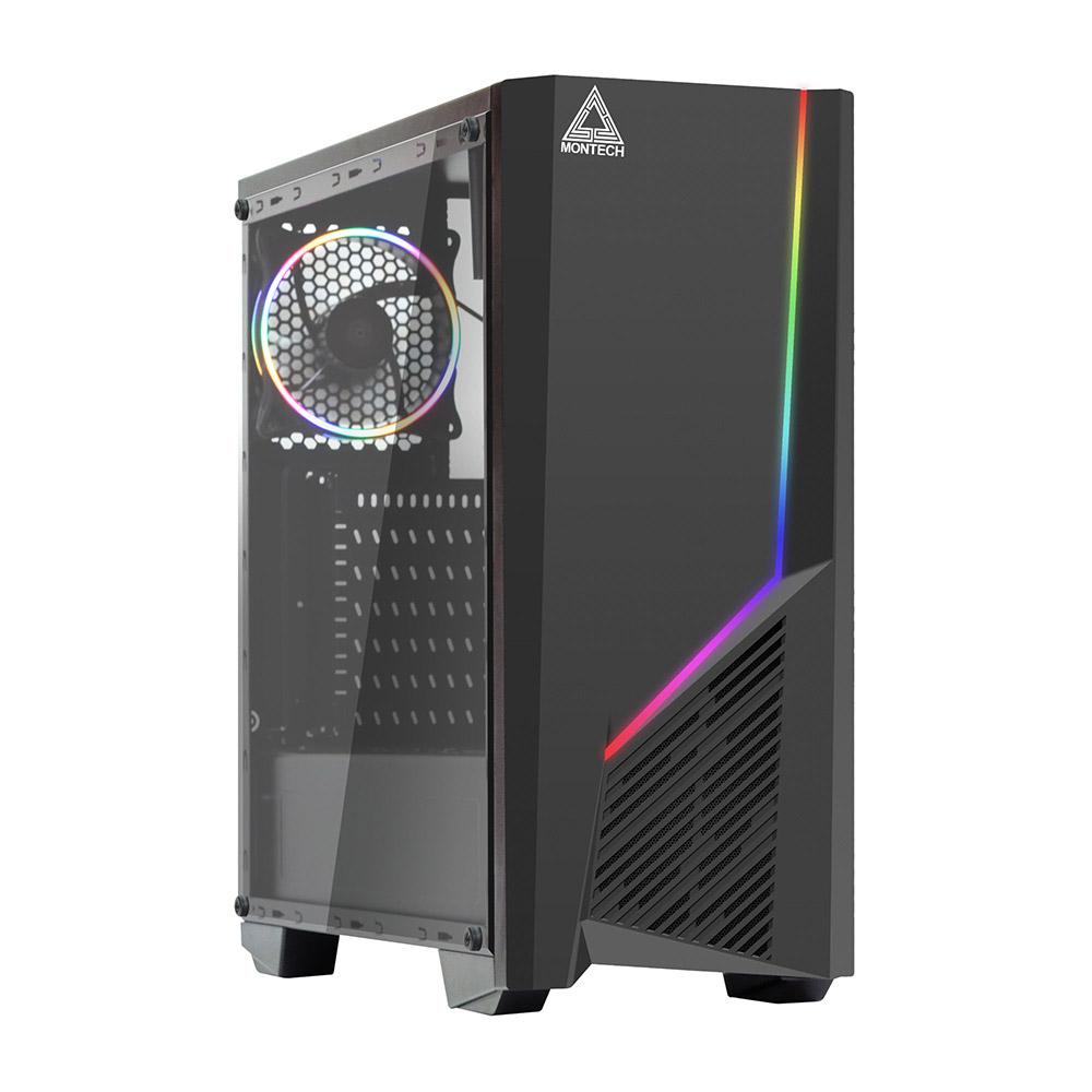 (無卡分期12期)技嘉B450平台[精武神將]R7八核GTX1660Ti-6G獨顯電玩機