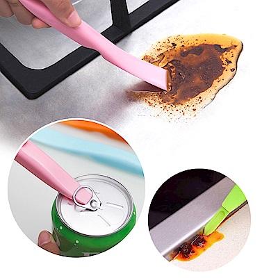 多用途 縫隙清潔 去污 清潔刷刮刀-超值2入 贈金剛砂海綿擦 kiret