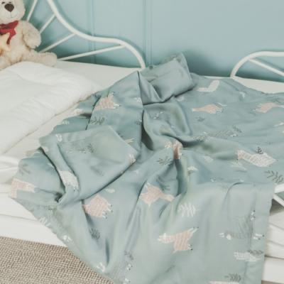 絲薇諾 兒童天絲涼被-草原捲捲羊(105×120cm)
