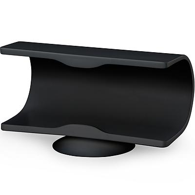 A3 QQ 吸附式簡約手機座(黑)