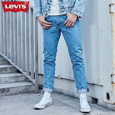 Levis男款上寬下窄512 Taper 低腰修身牛仔長褲 直向彈性延展