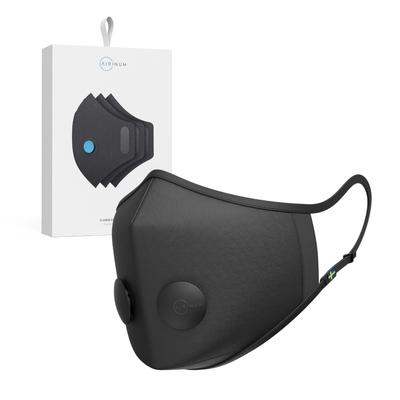 Airinum Urban Air Mask 2.0 口罩+一盒濾芯組合-瑪瑙黑