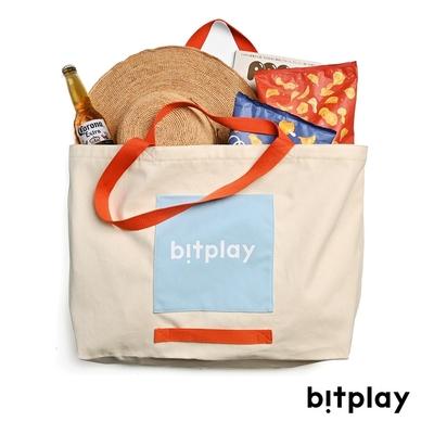 bitplay Oversize Tote Bag 超大容量托特包 ■夏日撞色