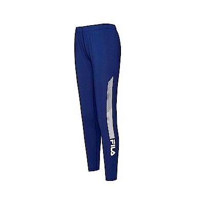 FILA 女吸排抗UV針織長褲-藍紫 5PNT-1323-DB