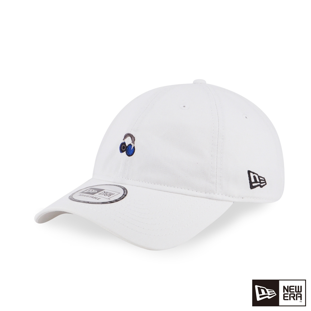 NEW ERA 9THIRTY 930 MINI LOGO 耳機 白 棒球帽