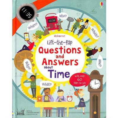 Questions And Answers About Time 翻翻學習書:時間的問與答
