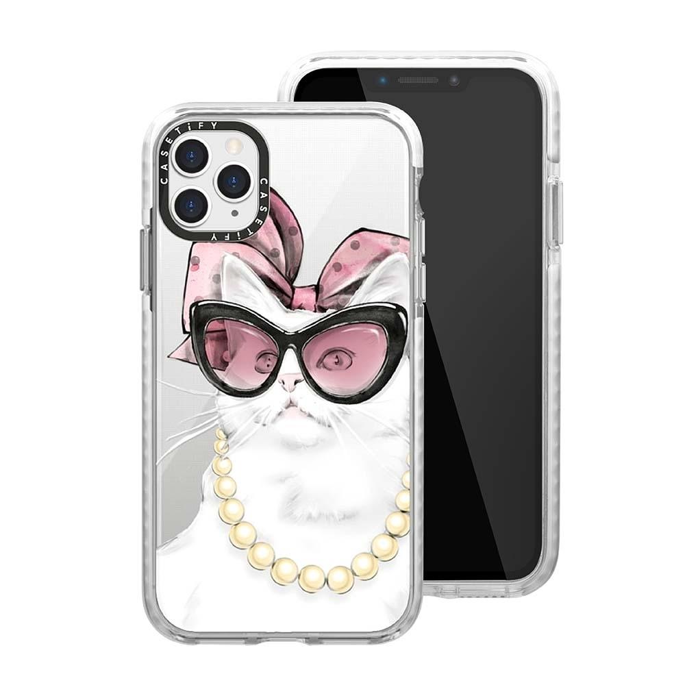 Casetify iPhone 11 Pro Max 耐衝擊保護殼-名媛貓