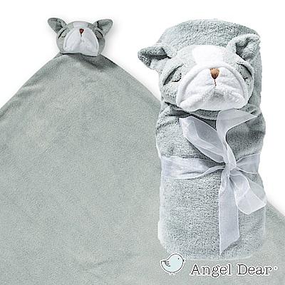 美國-Angel-Dear-大頭動物嬰兒毛毯-灰色