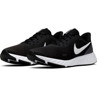 NIKE 慢跑鞋  男鞋 路跑 休閒 運動鞋 黑 BQ3204002 REVOLUTION 5