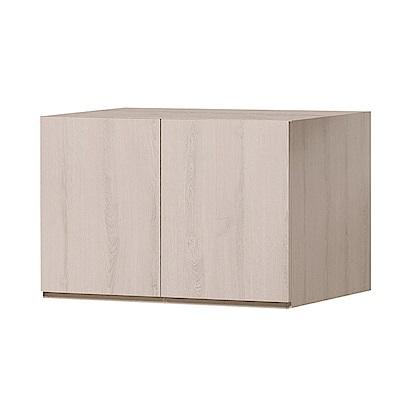 文創集 艾咪時尚2.7尺二門置物櫃/收納櫃-80x59x55cm免組