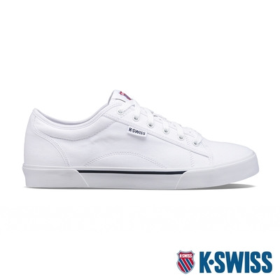 K-SWISS Port帆布運動鞋-男-白