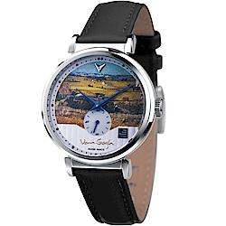 梵谷Van Gogh Swiss Watch小秒盤梵谷經典名畫男錶(C-SLMT-26)