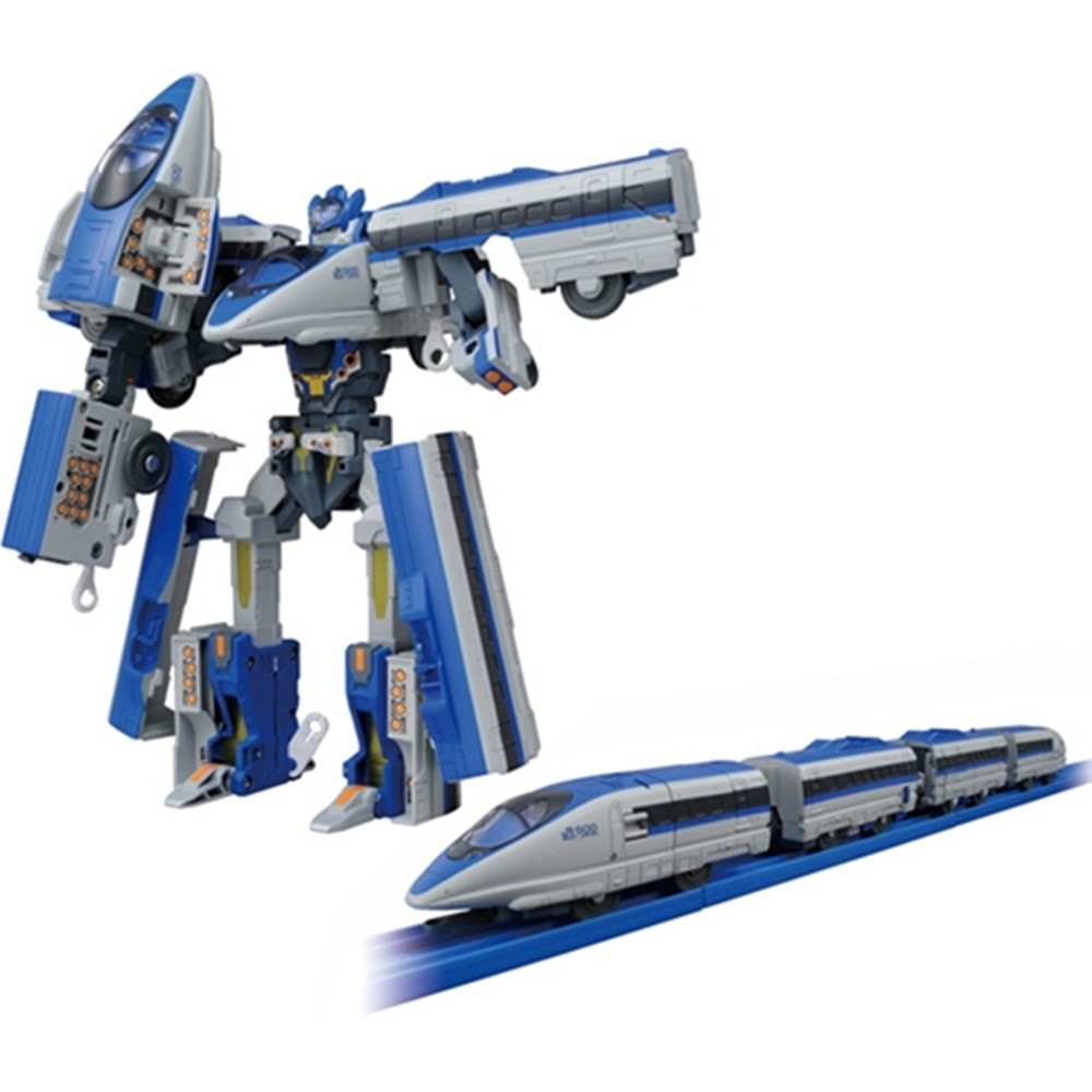 日本PLARAIL E7光輝號 DXS03新幹線變形機器人TP96433