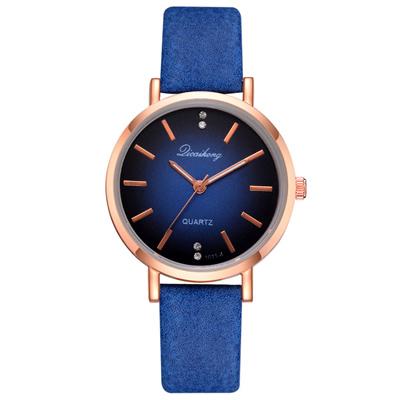 Watch-123 超薄簡約氣質三針小錶盤石英手錶 (2色任選)