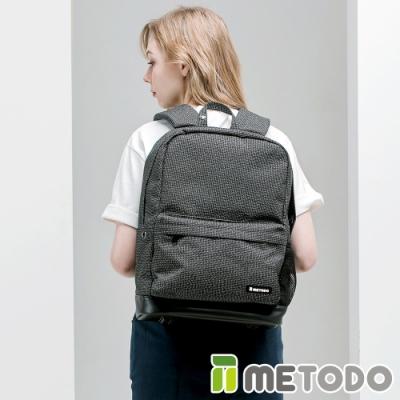 【METODO防盜包】Backpack 不怕割後背包/休閒旅遊包TSL-701黑