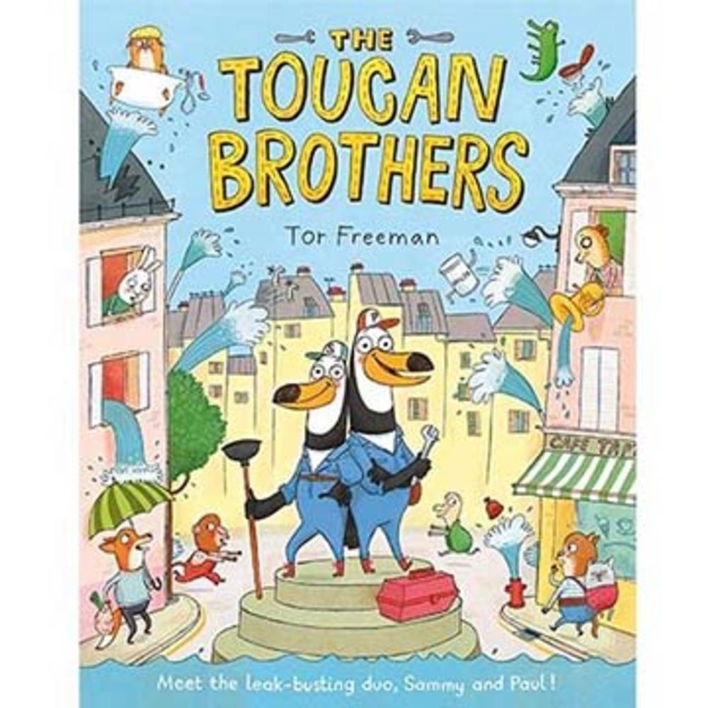 The Toucan Brothers 大嘴鳥兄弟平裝繪本