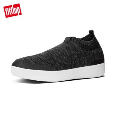 FitFlop UBERKNIT SLIP-ON SNEAKERS 黑色