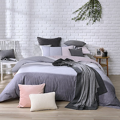 【BBL Premium】威尼斯100%精梳棉印花兩用被床包組(加大)