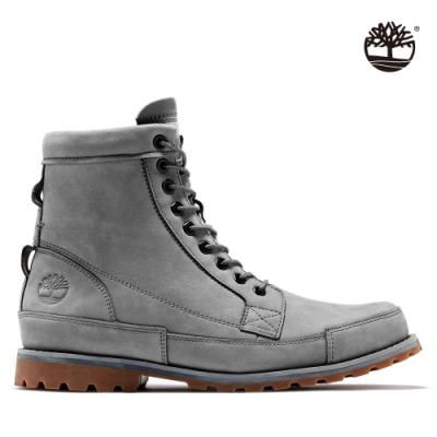 Timberland 男款深灰色磨砂革六吋靴|A41C6