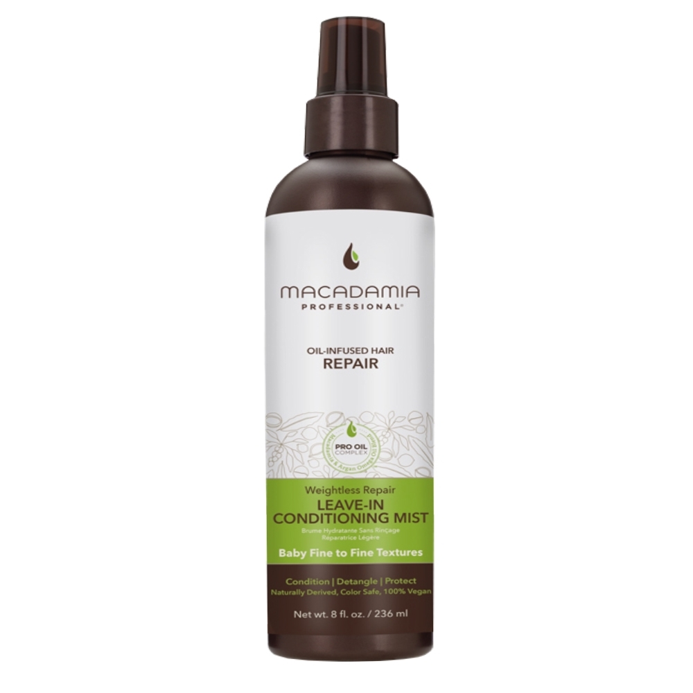 Macadamia Professional 瑪卡奇蹟油 輕柔護髮噴霧 236ml (新包裝)