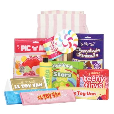 英國 Le Toy Van 角色扮演系列-英式經典糖果零食玩具組