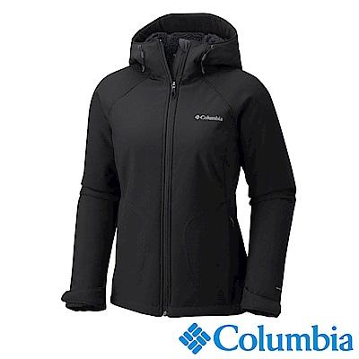 Columbia哥倫比亞 女款-防風軟殼外套-黑色 UWL67530BK