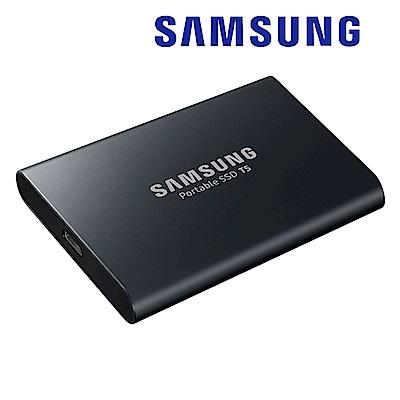 SAMSUNG 三星 T5 1TB USB3.1 移動固態硬碟 炫英黑 (MU-PA1T0B/WW)