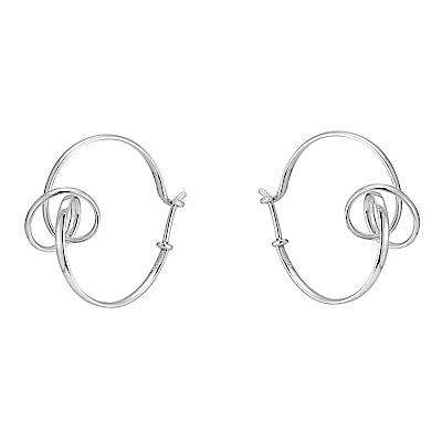 GEORG JENSEN-永結不忘 朵蘭純銀耳環 #444