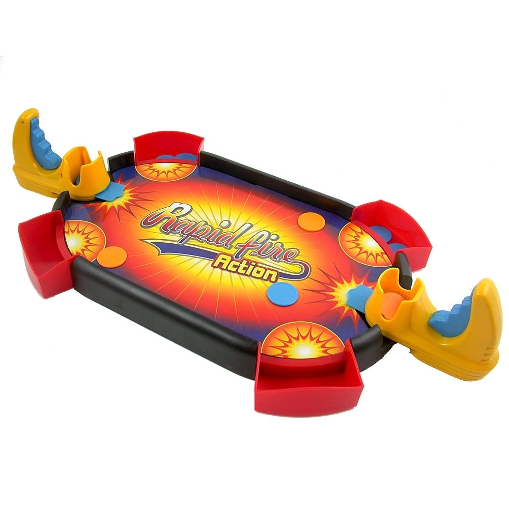 《Super Emitter》桌上型攜帶式彈幣競技射擊遊戲台