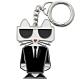 KARL LAGERFELD 貓咪公仔造型金屬鑰匙圈 product thumbnail 1