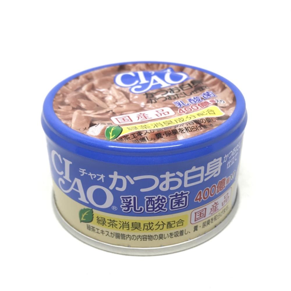 日本 CIAO 旨定罐 A-132 乳酸菌 鰹魚&鰹魚高湯 85g