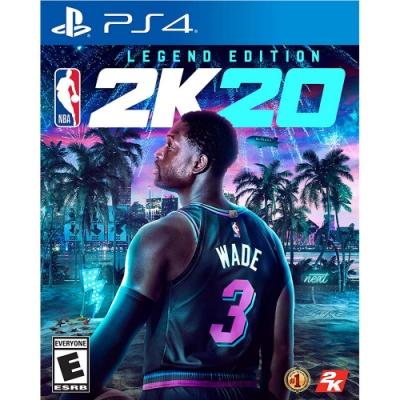 (預購) NBA 2K20 -PS4中文傳奇版