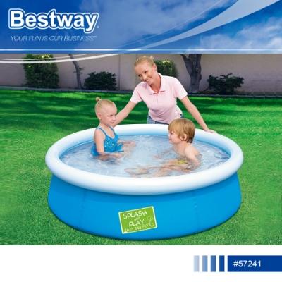 Bestway 57241加厚充氣兒童游泳池附修補片.家用親子休閒幼孩童充氣水池遊戲水池