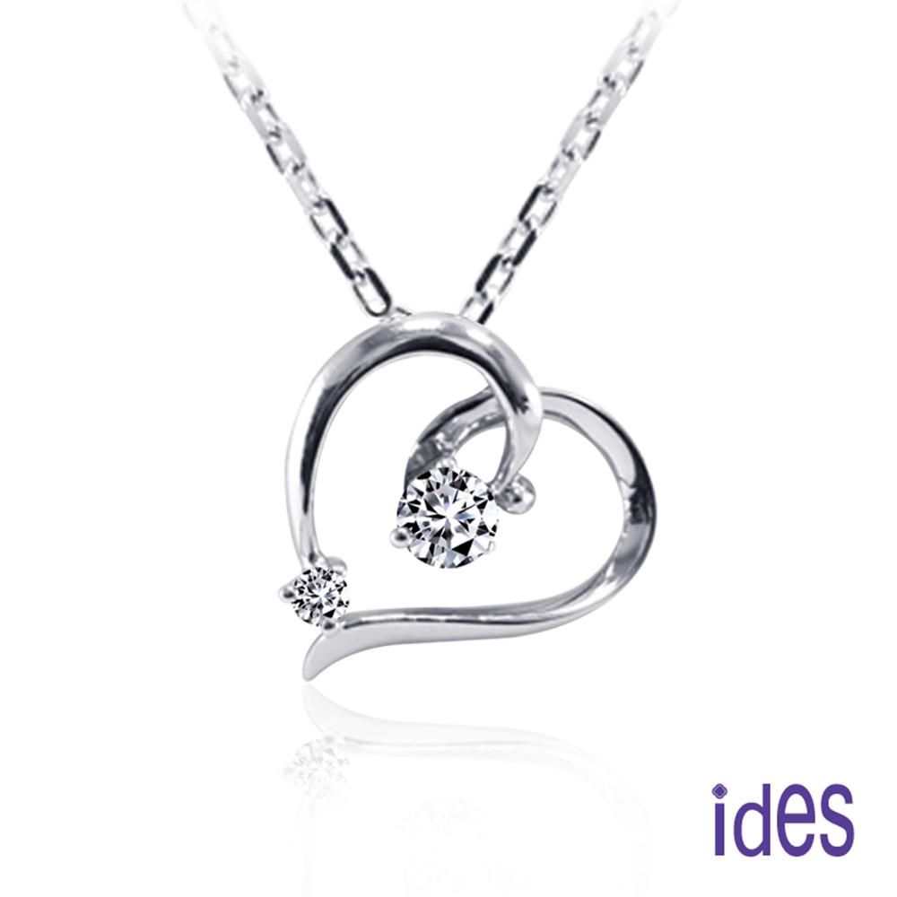 ides愛蒂思 精選12分八心八箭完美車工鑽石項鍊 @ Y!購物