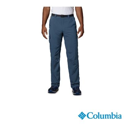 Columbia 哥倫比亞 男款-UPF50快排直筒長褲-墨藍 UAM80070IB