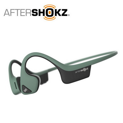 AFTERSHOKZ Trekz Air AS650骨傳導藍牙運動耳機-森林綠