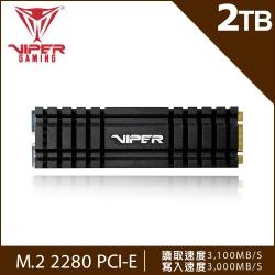 VIPER美商博帝 VPN100 2TB M.2 2280 PCIE SSD固態硬碟