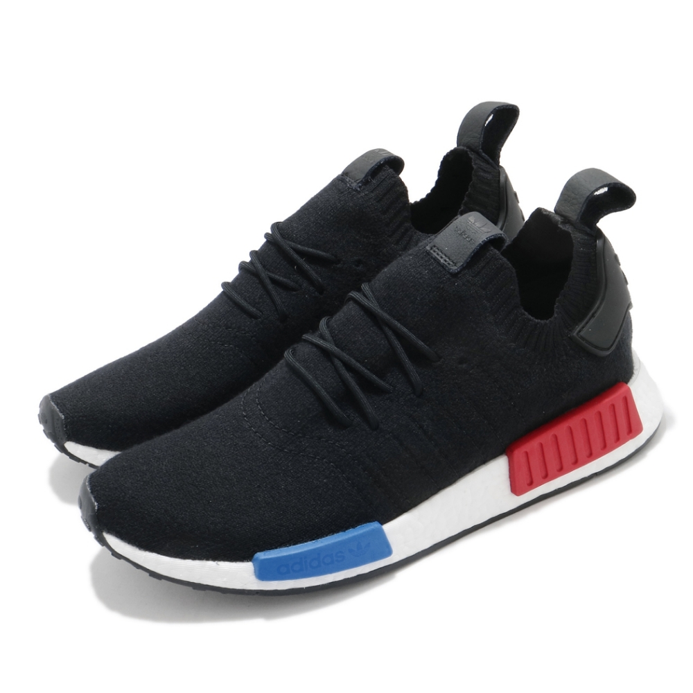 adidas 休閒鞋 NMD R1 PK 運動 男鞋 愛迪達 經典款 舒適 襪套 穿搭 黑 白 GZ0066