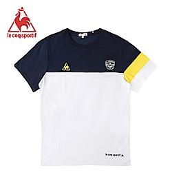 le coq sportif 法國公雞牌短袖T恤 男-白